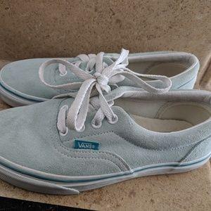 Suede Vans Sneaker Shoes - Sz 6